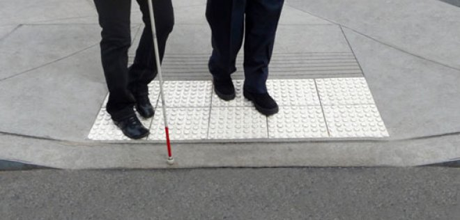 Een visuele beperking stelt andere eisen aan  openbare verlichting.
