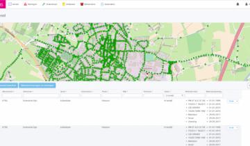 LMS beheersoftware voor lichtmanagement van openbare verlichting.