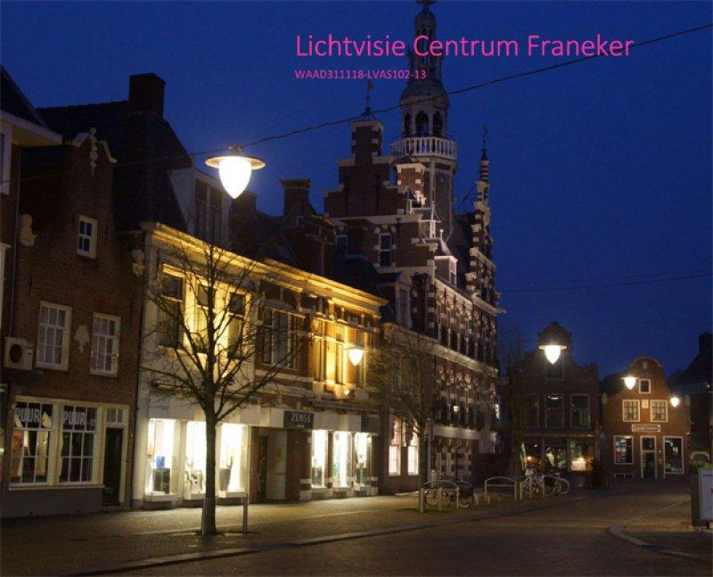 Lichtvisie openbare verlichting Franeker