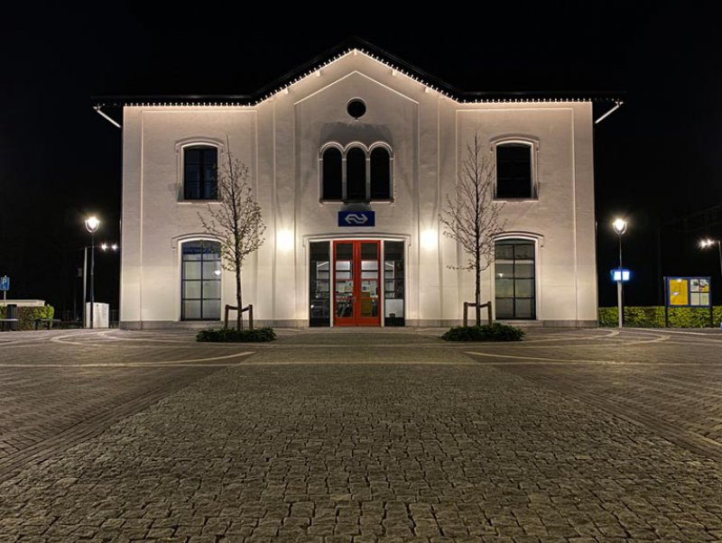 Het NLI verzorgt de lichtarchitectuur voor gebouwen en openbare verlichting.